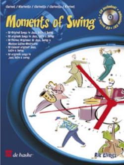 Moments of Swing -Clarinet Rik Elings Partition laflutedepan