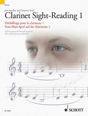 Clarinet Sight-Reading - 1 Kember John / Vinall Graeme laflutedepan