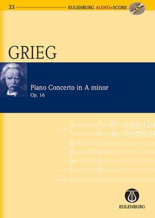 Concerto Pour Piano En la Mineur Op.16 GRIEG Partition laflutedepan
