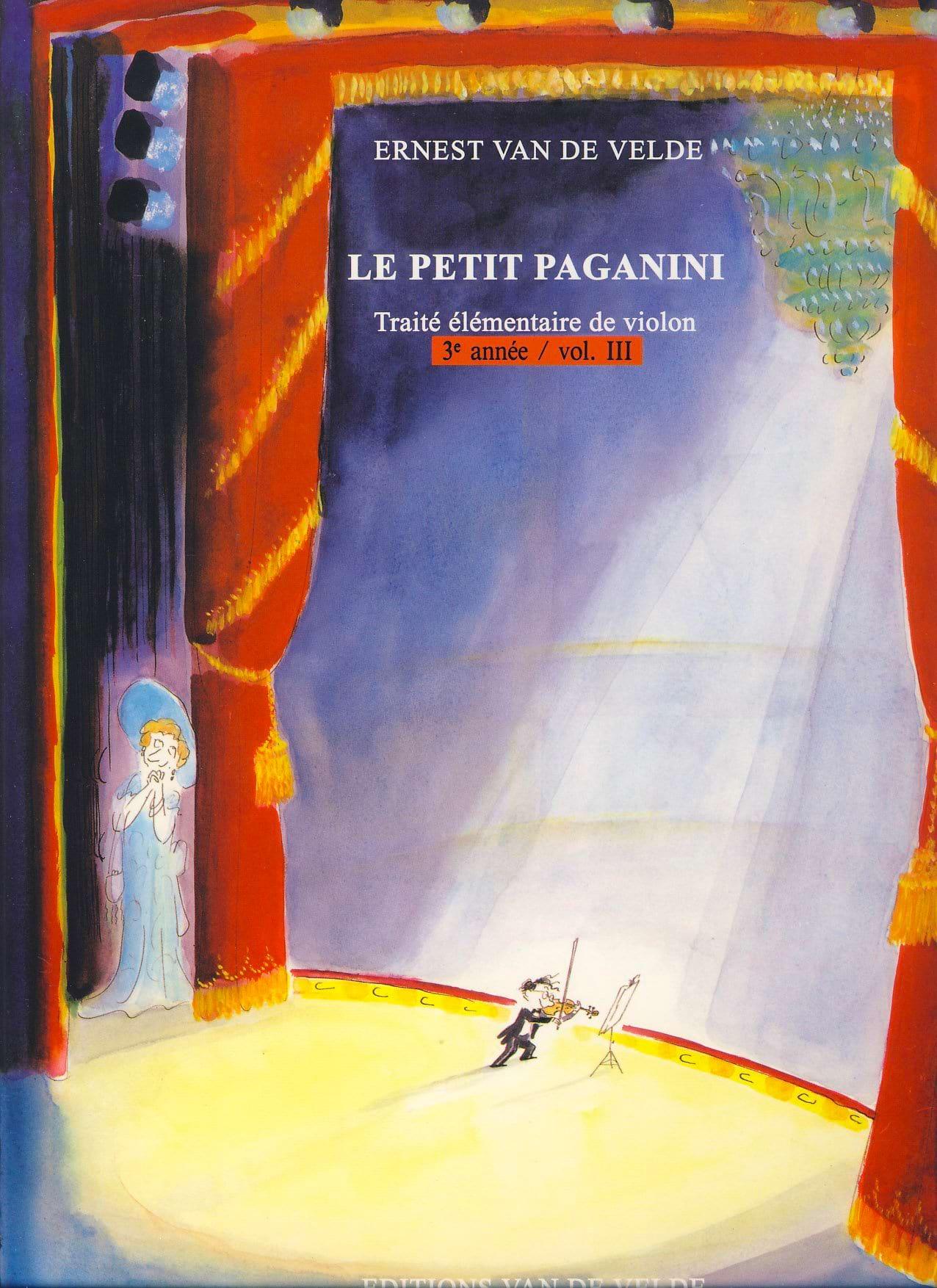 Le Petit Paganini Volume 3 - Partition - Violon - laflutedepan.com