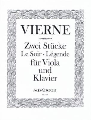 2 Pièces, op. 5 - Alto et piano - VIERNE - laflutedepan.com