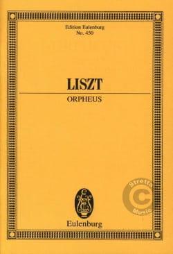 Orpheus Orphée - Conducteur LISZT Partition laflutedepan