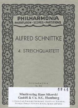 Streichquartett Nr. 4 -Partitur SCHNITTKE Partition laflutedepan