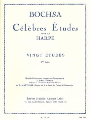 20 Etudes -2ème suite Charles Bochsa Partition Harpe - laflutedepan