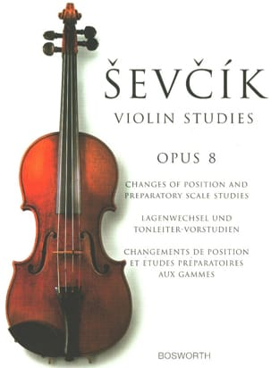 Etudes Opus 8 - Violon Otakar Sevcik Partition Violon - laflutedepan