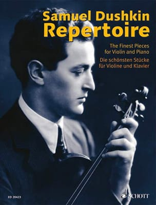 Repertoire - The Best Pieces For Violin Samuel Dushkin laflutedepan