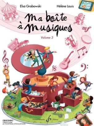 Ma Boîte à Musiques Volume 3 - Partition - laflutedepan.com