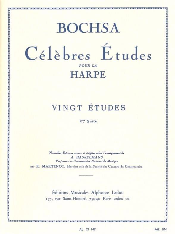 20 Etudes -2ème suite - Charles Bochsa - Partition - laflutedepan.com