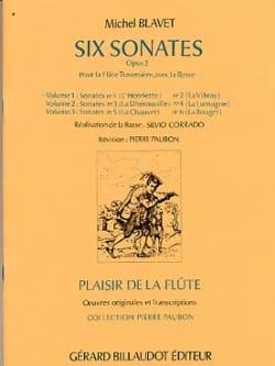 6 Sonates Op. 2 - Volume 1 Michel Blavet Partition laflutedepan