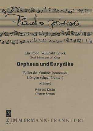 2 Pièces de l'opéra Orphée et Eurydice - Flûte et piano laflutedepan