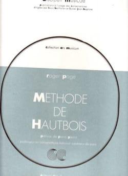 Méthode de hautbois Roger Page Partition Hautbois - laflutedepan