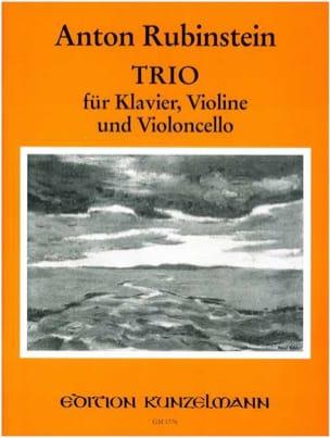 Trio n° 2 op. 15 Anton Rubinstein Partition Trios - laflutedepan