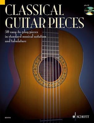 Classical Guitar Pieces Stephan Schmidt Partition laflutedepan