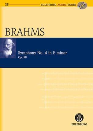 Symphonie N°4 Op. 98 En Mi Mineur BRAHMS Partition laflutedepan