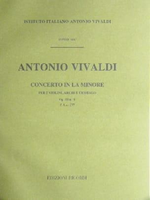 Concerto en la min. - F. 1 n° 177 - Partitura - laflutedepan.com