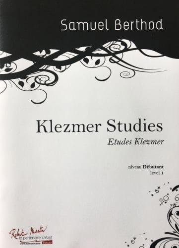 Klezmer Studies - Samuel Berthod - Partition - laflutedepan.com