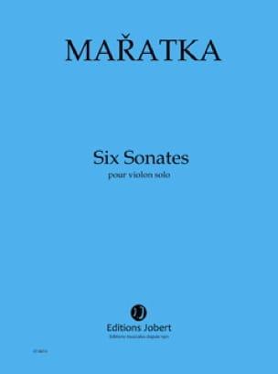 6 Sonates - Violon - Krystof Maratka - Partition - laflutedepan.com