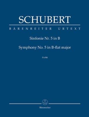 Symphonie Nr. 5. Neue Schubert-Ausgabe B-dur SCHUBERT laflutedepan