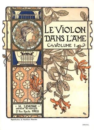 Le Violon dans l'Ame - Volume 1 Bruno Garlej Partition laflutedepan