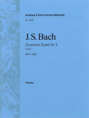 Ouvertüre Suite Nr. 3 D-Dur BWV 1068 - Conducteur BACH laflutedepan