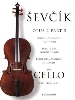 Etudes Opus 2 / Partie 5 - Violoncelle Otakar Sevcik laflutedepan