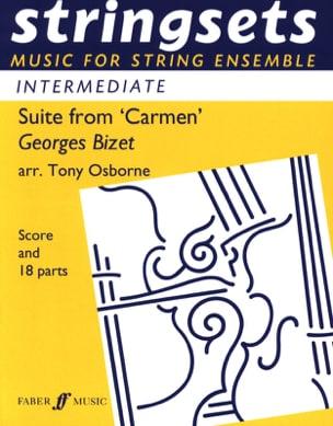 Suite Extr. de Carmen - Stringsets BIZET Partition laflutedepan