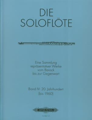 Die Soloflöte, Volume 4 20. Jahrhundert Partition laflutedepan
