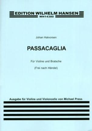 Passacaglia HAENDEL Partition 0 - laflutedepan