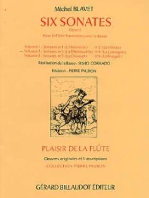 6 Sonates, op. 2 Volume 2 - Flûte et Bc - laflutedepan.com
