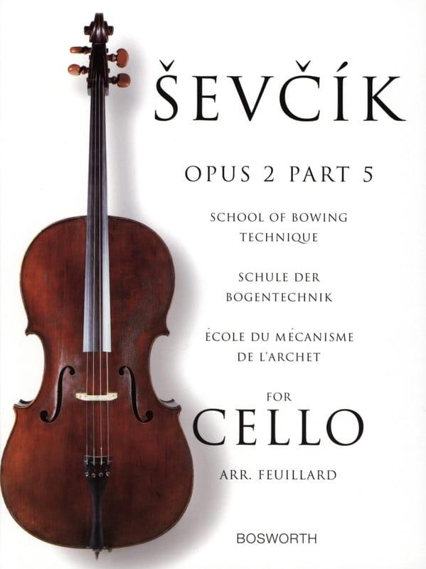 Etudes Opus 2 / Partie 5 - Violoncelle - laflutedepan.com