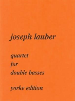 Quartet for double basses - Joseph Lauber - laflutedepan.com