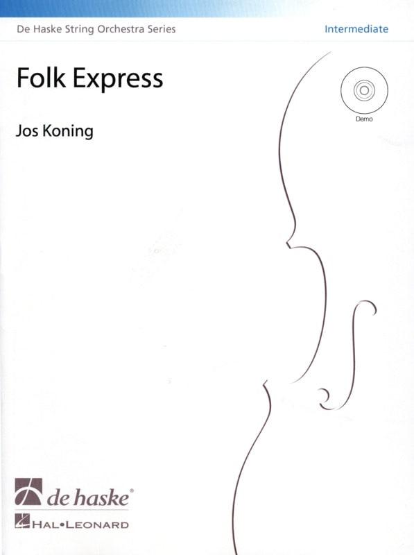 Folk Express - Intermediate - Jos Koning - laflutedepan.com