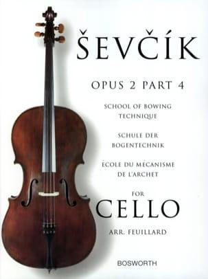 Etudes Opus 2 / Partie 4 - Violoncelle Otakar Sevcik laflutedepan