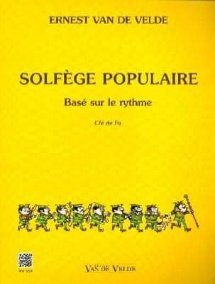 VAN DE VELDE - Popular Music - Key of Fa - Partition - di-arezzo.com