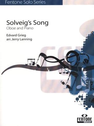 Solveig's Song - Hautbois & Piano - GRIEG - laflutedepan.com