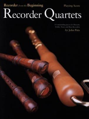 Recorder Quartets John Pitts Partition Flûte à bec - laflutedepan