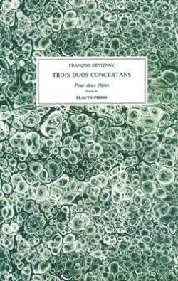 Trois Duos Concertants Oeuvre 81 DEVIENNE Partition laflutedepan
