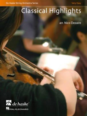 Classical Highlights Nico Dezaire Partition ENSEMBLES - laflutedepan
