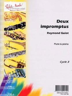 Deux Impromptus Raymond Guiot Partition laflutedepan