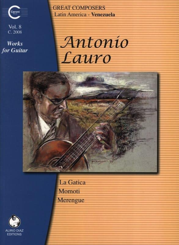 Oeuvres pour Guitare, Volume 8 - Antonio Lauro - laflutedepan.com