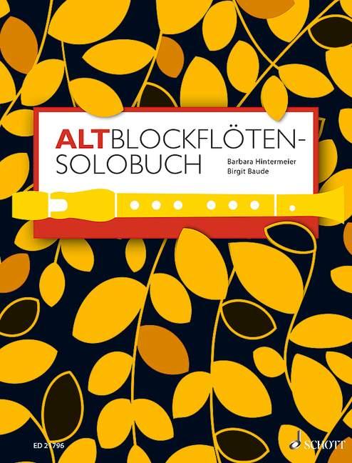 Altblockflöten-Solobuch - Partition - laflutedepan.com