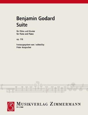 Suite Op. 116 Benjamin Godard Partition laflutedepan