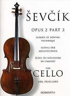 Etudes Opus 2 / Partie 3 - Violoncelle Otakar Sevcik laflutedepan