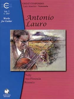 Oeuvres pour Guitare, Volume 7 Antonio Lauro Partition laflutedepan