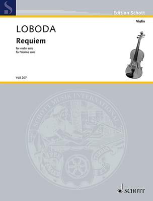 Requiem - Violon solo Igor Loboda Partition Violon - laflutedepan