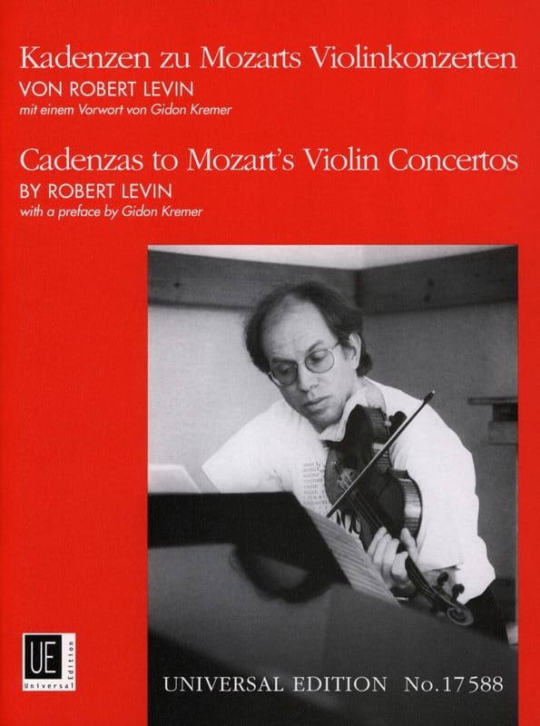 Kadenzen zu Mozarts Violinkonzerten - Robert Levin - laflutedepan.com