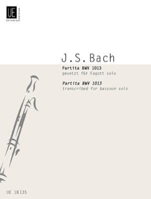 Partita BWV 1013 -Fagott solo BACH Partition Basson - laflutedepan