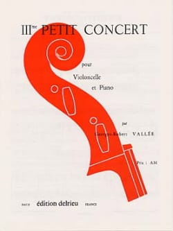 Petit Concert n° 3 Georges-Robert Vallée Partition laflutedepan