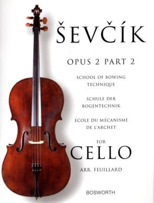 Etudes Opus 2 / Partie 2 - Violoncelle Otakar Sevcik laflutedepan