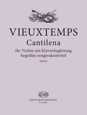 Cantilena op. 48 n° 24 VIEUXTEMPS Partition Violon - laflutedepan